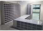 Step Over Changing Room Benches with Pigeon Hole Storage