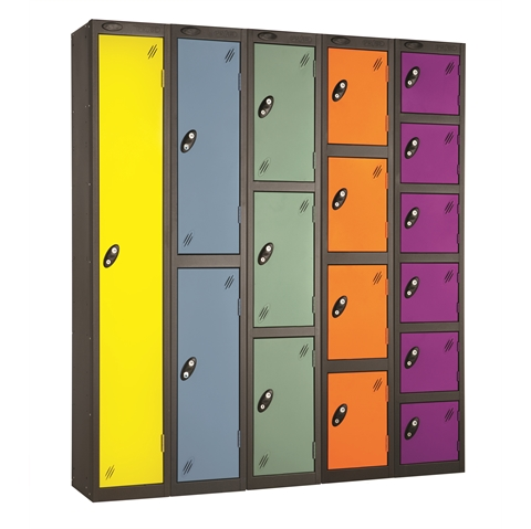 Probe Full Height Autumn Colours Lockers