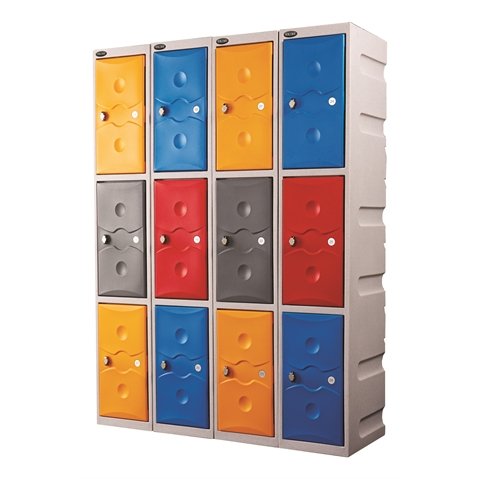 Full Height Weather Duty Plastic Lockers