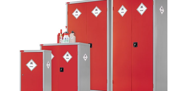 Toxic & Pesticide Storage Cupboards