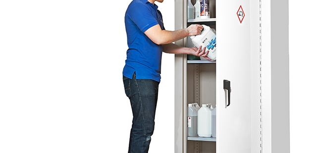 Heavy Duty Acid & Alkali Storage Cupboards